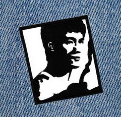 Large Bruce Lee Kung Fu Patch 10cm Applique
