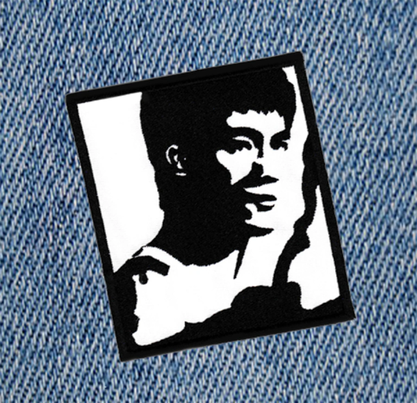 Large Bruce Lee Kung Fu Patch 10cm Applique