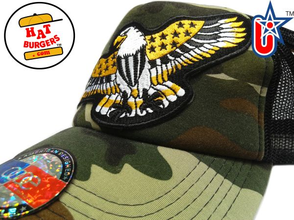 smARTpatches Truckers Golden Eagle Trucker Hat