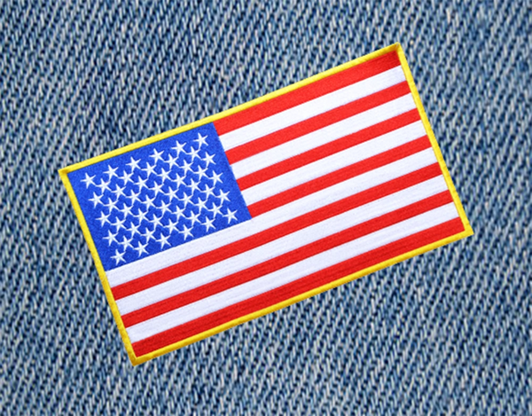 XXL USA American Flag Patch 30cm / 12 inches Back Patch