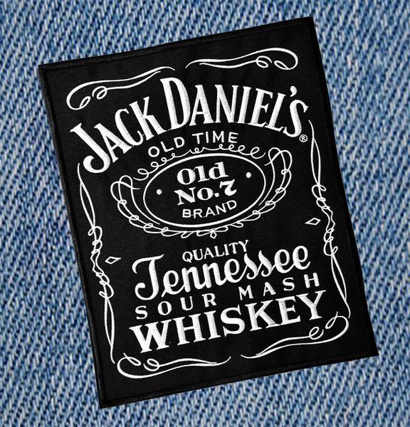 XXL Vintage Style 70's 80's Jack Daniel's Patch 30cm / 12 inches