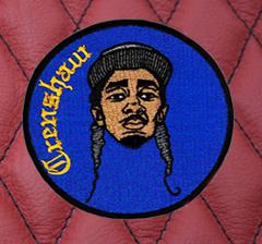 Cool DJ Rap Hip Hop Patch 9cm / 3.5 inches