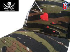 Tactical Infidel Blackbeard Pirate Tiger Camo Trucker Hat