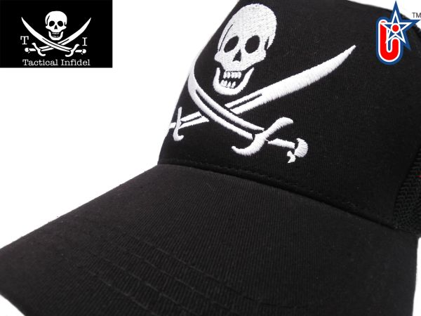 Tactical Infidel Jolly Roger Pirate Trucker Hat