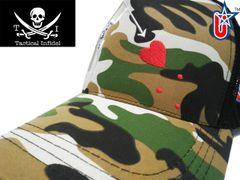 Tactical Infidel Blackbeard Pirate Camo Trucker Hat