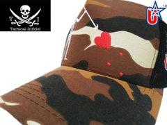 Tactical Infidel Blackbeard Pirate Desert Camo Trucker Hat