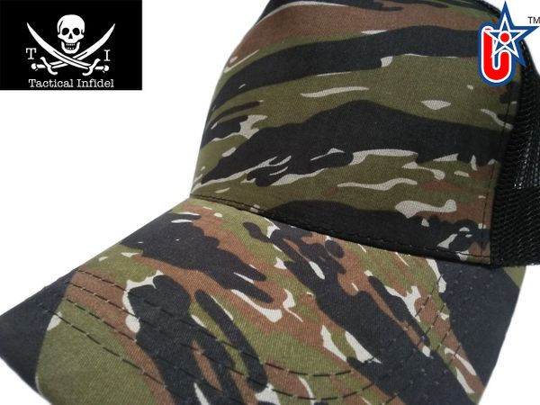 Tactical Infidel Tiger Camo Trucker Hat