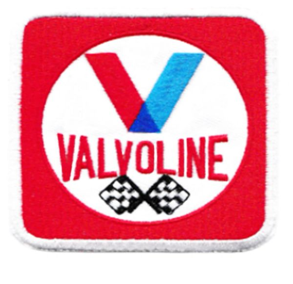 Vintage 70's Style Valvoline Patch 7.5cm / 3 inches