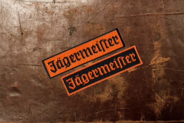 Jagermeister Racing Patch 12cm / 4.7 inch