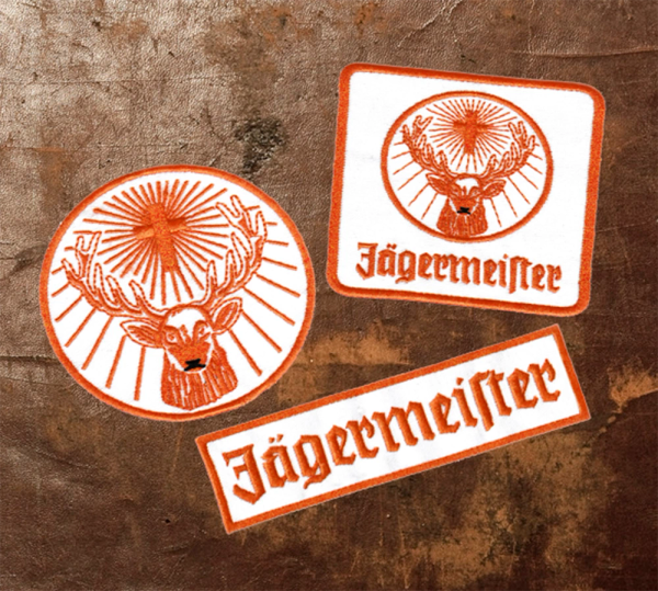 Jagermeister Racing Patch 8cm / 3.2 inch
