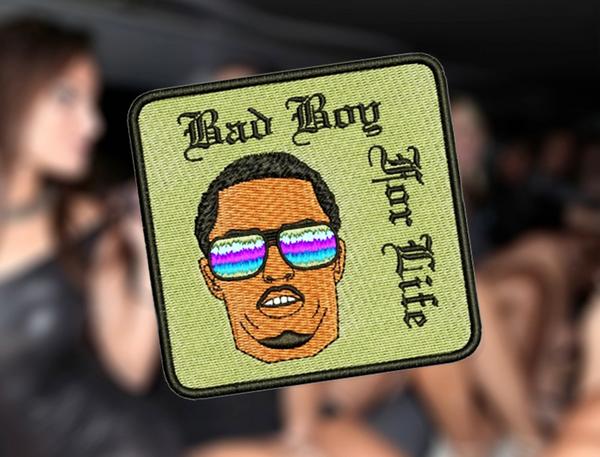 Cool Hip Hop Rap DJ Patch 9cm / 3.5 inches