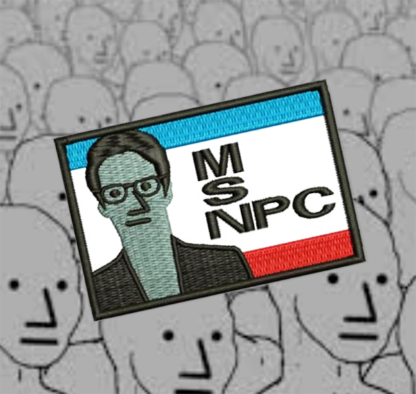 MSNPC NPC Fake News Shirt Patch 7.5cm / 3 inch