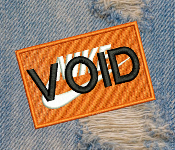 Large Funny Parody VOID Morale Patch 9cm / 3.5 inch