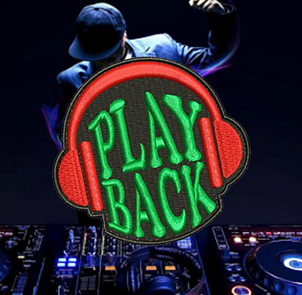 Cool East Coast West Coast LA New York Compton Hip Hop Headphones DJ Patch Hip Hop 8cm / 3.2 inch