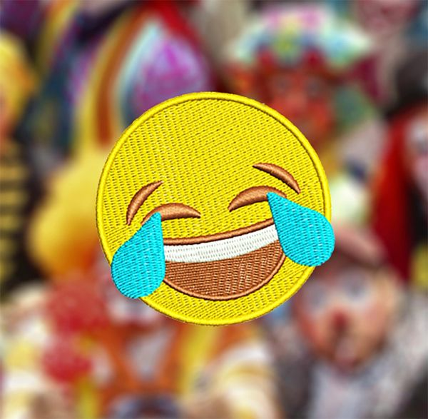Cute Smile Happy Funny Face 7cm / 2.8 inch