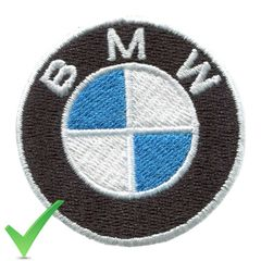 BMW Patch 5cm
