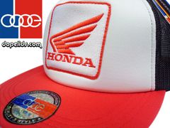 smartpatches Honda Motorcycle Hat (Red, White and Black)