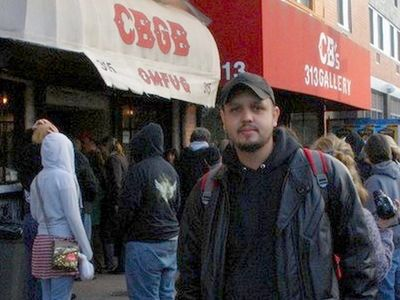 Fernando Carpaneda. Back to the Bowery-CBGB's Gallery NY.Group Exhibition ​March 9 - April 8, 2005.