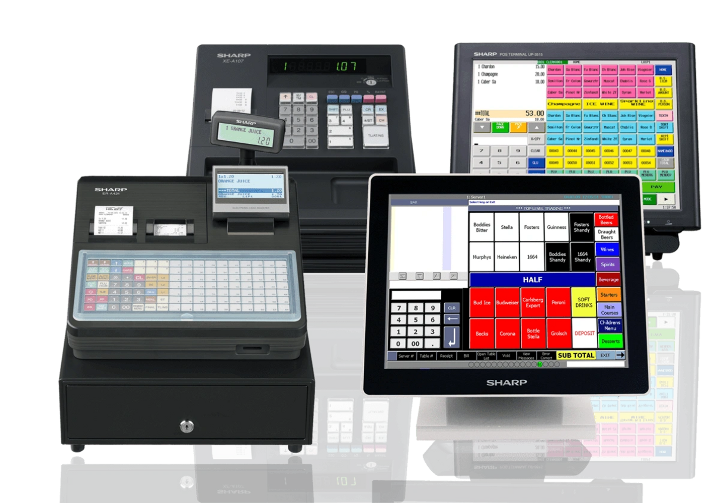 cash registers, epos systems, pos systems, point of sale