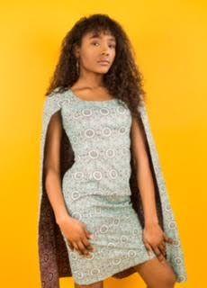 Bintu Cape Dress