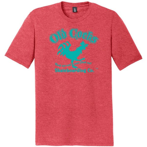 Rock Out T-Shirt - Coral & Turquoise