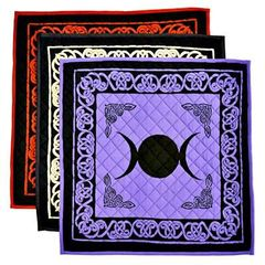 Triple Moon Cotton Meditation Yoga Mat
