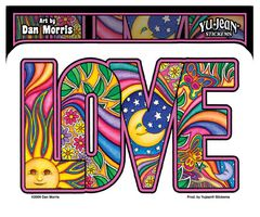 Dan Morris Love Sticker