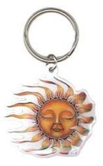 Mike Dubois Sleeping Sun Key Chain