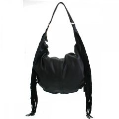 David Jones Side Fringe Hobo Handbag