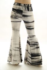 HIPPIE NATURAL TIE DYE BELL BOTTOM PANT
