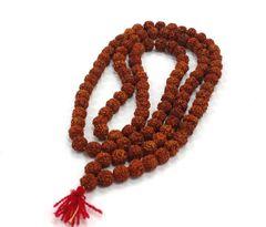 108 Bead Rudraksha Mala Rosary Necklace