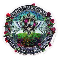 Grateful Dead 40 Years Sticker