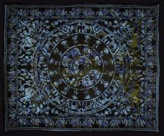 Elephant Over Print Tapestry