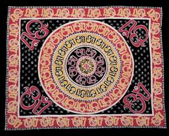 Boho Hippie Om Mandela Tapestry