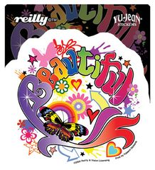 Reilly Beautiful Sticker