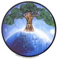 Mikio Living Planet Sticker