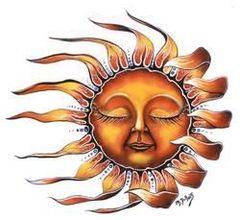 Mike DuBois Sleeping Sun Sticker