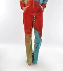 T PARTY TIE DYE FRENCH TERRY PANT