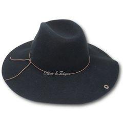Black Peter Grimm Wool Felt Safari Style Floppy Hat