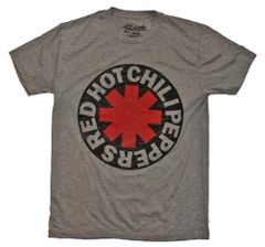 Red Hot Chili Peppers Asterisk Circle T-Shirt