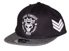 Five Finger Death Punch Flat Bill Snapback Hat