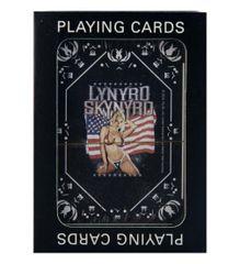 Lynyrd Skynyrd Girl with Flag Playing Cards