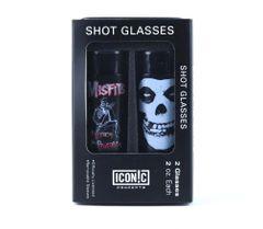 Misfits Shot Glasses Set (2 Pack)
