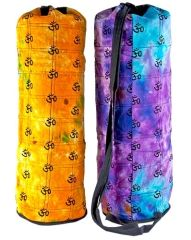 Printed Yoga Mat Carrying Bag in Tie Dye