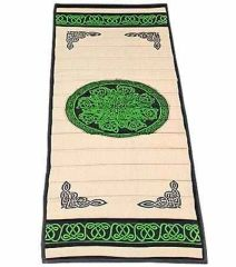 Celtic Knot Cotton Yoga Meditation Mat