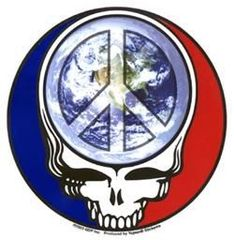 Grateful Dead Steal Your Peace Sticker