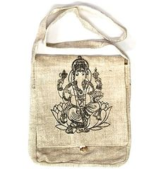 LORD GANESH HEMP HANDBAG