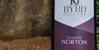 Byrd Cellars Norton Reserve large Boulder background