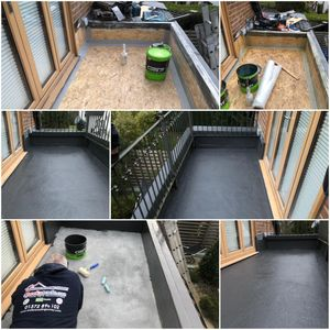 GRP Balcony in Surrey, GRP specialist Surrey, Balcony construction surrey, Roof terraces in surrey.