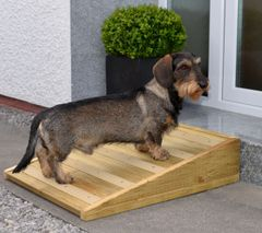 Outdoor Anti-Slip Handmade Wood Pet Ramp for Your Dog or Cat